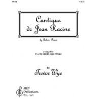FAURE G. CANTIQUE DE JEAN RACINE FLUTES