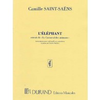 SAINT-SAENS C. L'ELEPHANT VIOLONCELLE OU CONTREBASSE