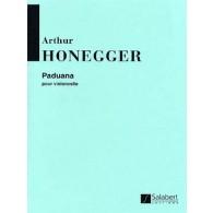 HONEGGER A. PADUANA VIOLONCELLE SOLO