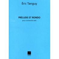 TANGUY E. PRELUDE ET RONDO VIOLONCELLE SOLO
