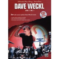 WECKL D. ULTIMATE PLAY ALONG DRUM TRACKS LEVEL 1 VOL 1