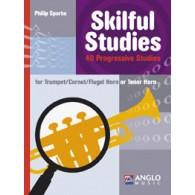 SPARKE P. SKILFUL STUDIES CORNET OU TROMPETTE