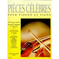 PIECES CELEBRES VOL 1  VIOLON