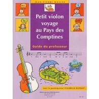 DUPONT I./WALLEZ J.P. PETIT VIOLON VOYAGE AU PAYS DES COMPTINES