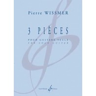 WISSMER P. 3 PIECES GUITARE