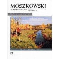 MOSZKOWSKI M. 20 PETITES ETUDES OP 91 PIANO