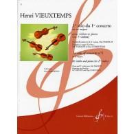 VIEUXTEMPS H. 1ER SOLO 1ER CONCERTO VIOLON