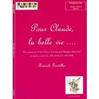 TORTILLER F. POUR CLAUDE LA BELLE VIE VIBRAPHONE