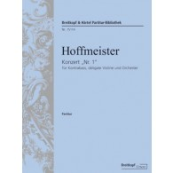HOFFMEISTER F.A. DOUBLE BASS CONCERTO N°1