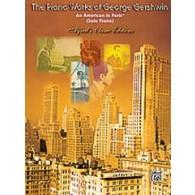 GERSHWIN G. UN AMERICAIN A PARIS PIANO