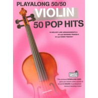 PLAYALONG 50/50 50 POP HITS VIOLON