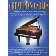 GREAT PIANO SOLOS BLEU
