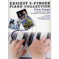 EASIEST 5-FINGER PIANO COLLECTION FILM SONGS