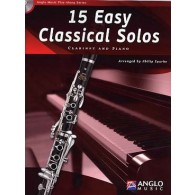 15 EASY CLASSICAL SOLOS CLARINETTE
