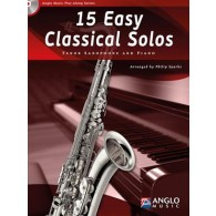 15 EASY CLASSICAL SOLOS SAXOPHONE TENOR