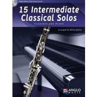 15 INTERMEDIATE CLASSICAL SOLOS CLARINETTE