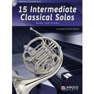 15 INTERMEDIATE CLASSICAL SOLOS COR
