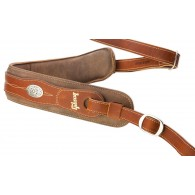 SANGLE GIBSON THE AUSTIN GUITAR STRAP BROWN