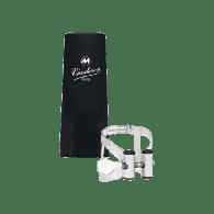 LIGATURE CLARINETTE  ALTO ARGENT VANDOREN LC53SP CB PLASTIQUE