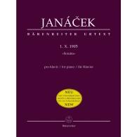 JANACEK L. SONATA (1.X.1905) PIANO
