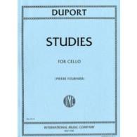 DUPORT J.L. 21 STUDIES VIOLONCELLE