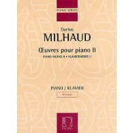 MILHAUD D. OEUVRES PIANO VOL 2