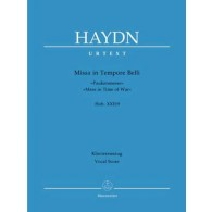 HAYDN J. MISSA IN TEMPORE BELLI CHANT