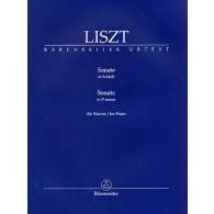 LISZT F. SONATE EN SI MINEUR PIANO