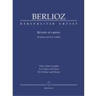 BERLIOZ H. REVERIE ET CAPRICE VIOLON