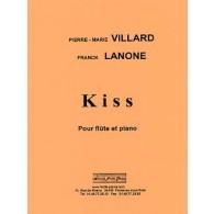 VILLARD P.M./LANONE F. KISS FLUTE