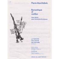 DUBOIS P.M. ROMANTIQUE ET CARILLON CLARINETTE
