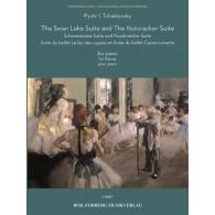 TCHAIKOVSKY P.I. SUITE LE LAC DES CYGNES ET LE BALLET CASSE-NOISETTE PIANO