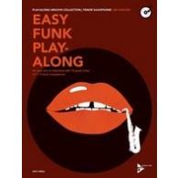 HARLOW ED EASY FUNK PLAY-ALONG SAXOPHONES TENOR