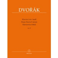 DVORAK A. PIANO TRIO IN F MINOR OP 65