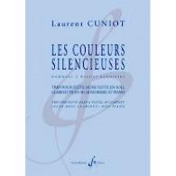 CUNIOT L. LES COULEURS SILENCIEUSES FLUTE CLARINETTE SIB ET PIANO