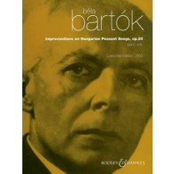 BARTOK B. IMPROVISATION ON HUNGARIAN PEASANT SONGS OP 20 PIANO