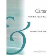 CARTER E. ESPRIT DOUX FLUTE CLARINETTE