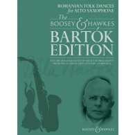 BARTOK DANSES POPULAIRES ROUMAINES SAXOPHONE ALTO ET PIANO