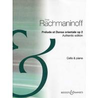 RACHMANINOV S. PRELUDE ET DANSE ORIENTALE VIOLONCELLE