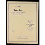 SELLNER J. 12 DUOS VOL 1 HAUTBOIS/SAXO