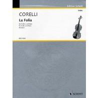 CORELLI A. LA FOLIA VIOLON