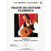 HERRERO O./WORMS C. TRAITE DE GUITARE FLAMENCA VOL 3