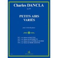 DANCLA C. PETITS AIRS VARIES OP 89 VIOLON