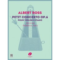 ROSS A. PETIT CONCERTO OP 6 VIOLON