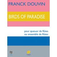 DOUVIN F. BIRDS OF PARADISE FLUTES