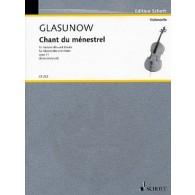 GLAZOUNOV A. CHANT DU MENESTREL VIOLONCELLE