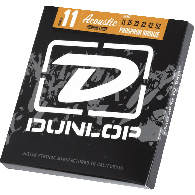 JEU DE CORDES ACOUSTIQUE DUNLOP STRINGS DAP1152 PHOSPHOR BRONZE 11/52