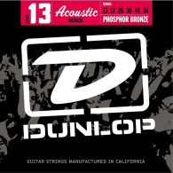 JEU DE CORDES ACOUSTIQUE DUNLOP STRINGS DAP1356 PHOSPHOR BRONZE 13/56