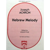 ACHRON J. HEBREW MELODY VIOLON