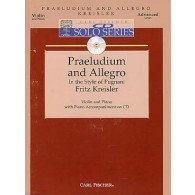 KREISLER F. PRELUDE ET ALLEGRO VIOLON